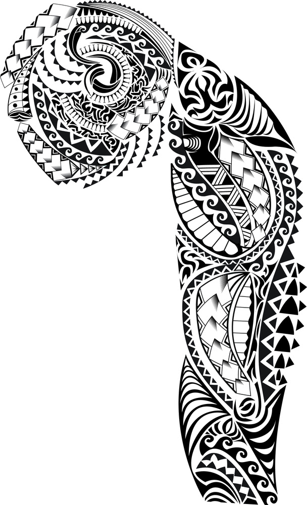 Polynesian Tribal Drawing At Getdrawingscom Free For Personal Use