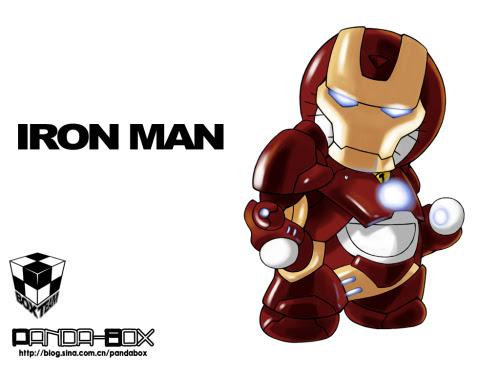 doraemon - iron man