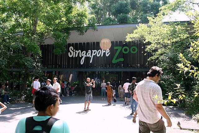 Singapore Zoo entrance