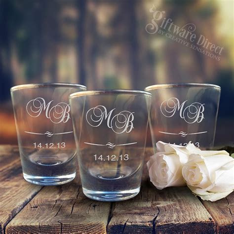 17 Best ideas about Wedding Shot Glasses on Pinterest