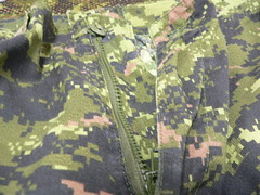 Pantalón CADPAT TW Issued Detalle Bragueta