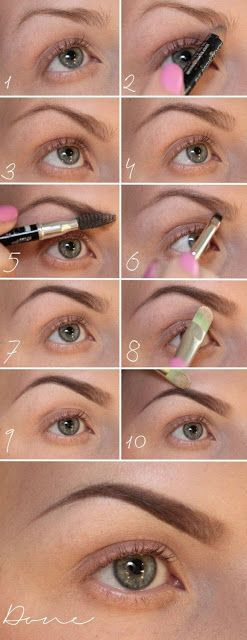 how to fill in your brows, dears