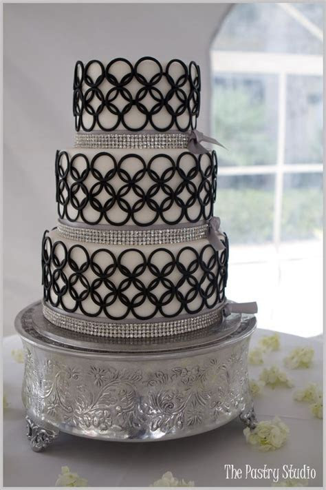 25  best ideas about Silver cake on Pinterest   Elegant