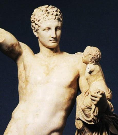 Praxiteles, Hermes mit dem Dionysosknaben