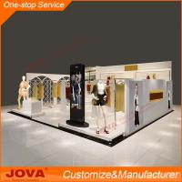 Ladies Shop Decoration Design Wooden Clothes Kiosk Design Shop