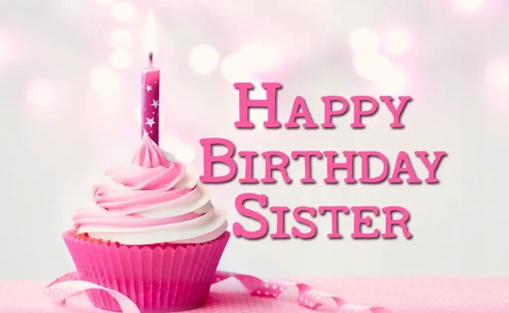 Happy Birthday Sister For Whatsapp Dp