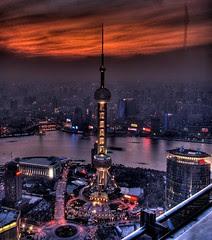 Shanghai at nite