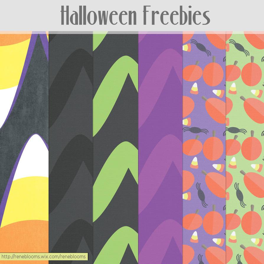 Halloween Paper Patterns by SunnyFunLane