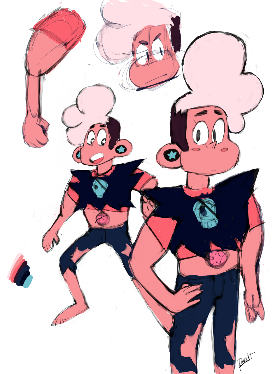 A Stars (Steven/Lars) fusion concept. If you like this design you can use it, as long as you give me credit.