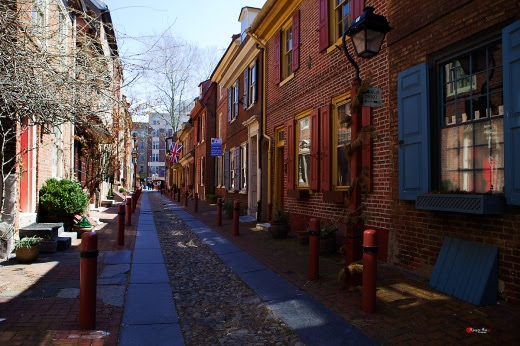 Philadelphia, Elfreth's Alley 009