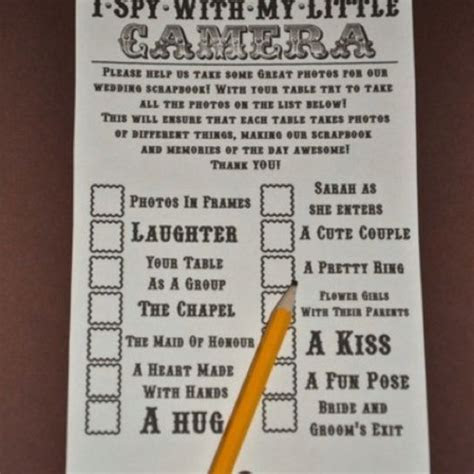 fun things to do wedding reception   Put a disposable