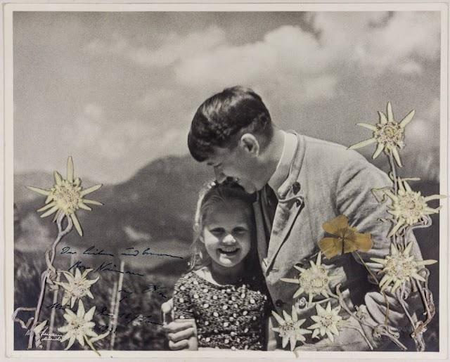 A pequena amiga judia de Adolf Hitler