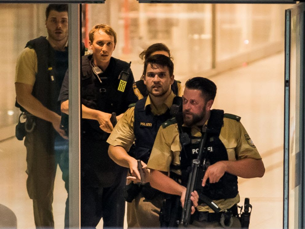 BREAKING: Mass Fatality Shooting In Munich, Germany