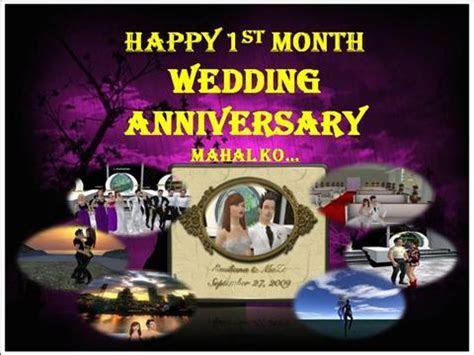 Happy 1St Month Wedding Anniversary  authorSTREAM