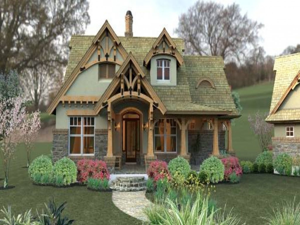 Small Craftsman Cottage House Plans Small Cottages and ...