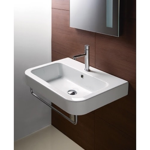 Wall Mount Bathroom Sink - Decorative, Ceramic | GSI 693211