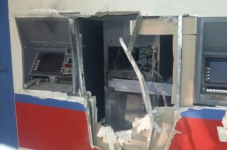 DINAMITE: Aassalto em agência bancária com explosão