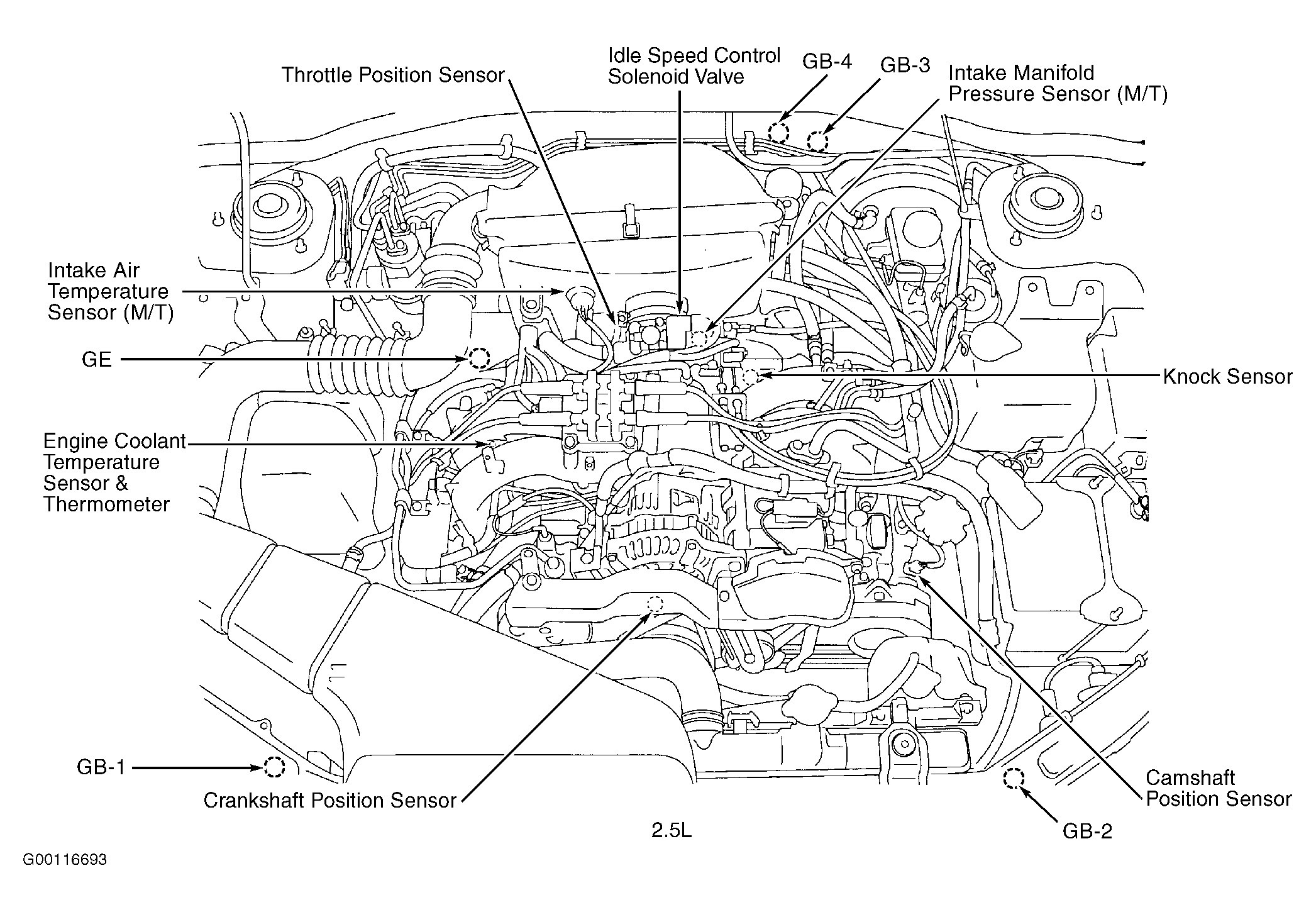 Wiring Diagram Database  2001 Subaru Outback Exhaust
