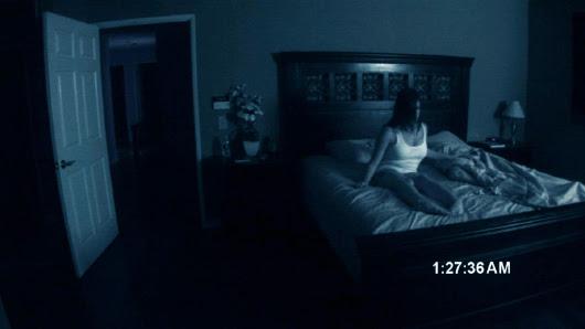 Katie Featherston y Micah Sloat en 'Actividad paranormal'