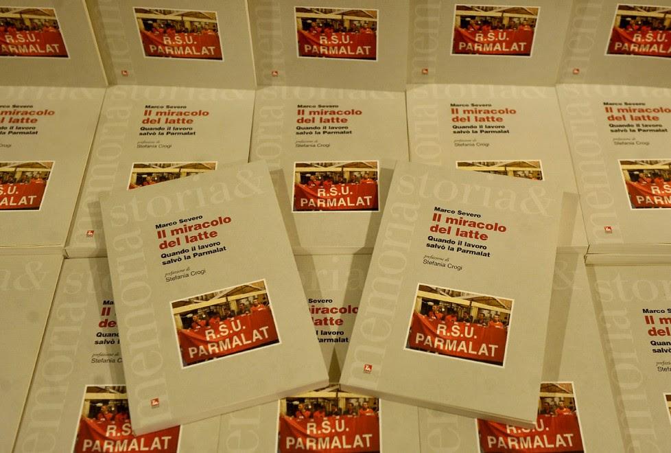 All'Ubik il libro sulla Parmalat di Severo