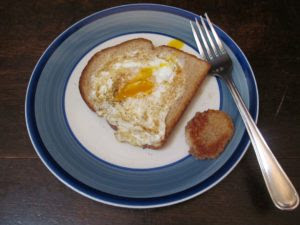 egg-in-a-hole-over-easy