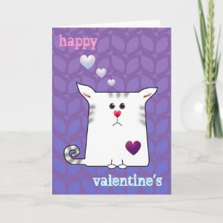 Customizable: Little Alfie purple card
