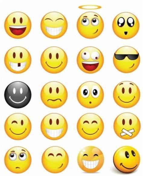keren smilies vector set ikon vektor icon vektor gratis