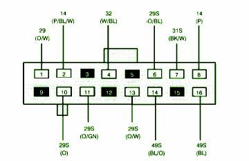1999 Ford Contour Radio Wiring Diagram - Wiring Diagrams