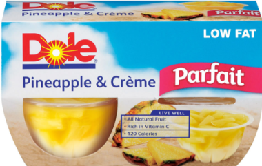 Dole Fruit Parfait Possible FREE Dole Fruit Parfaits