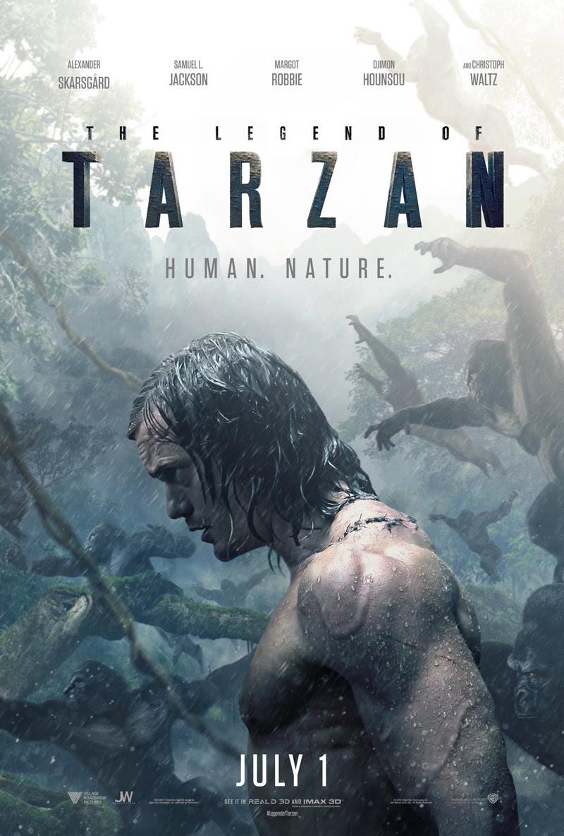 Resultado de imagen para the legend of tarzan poster