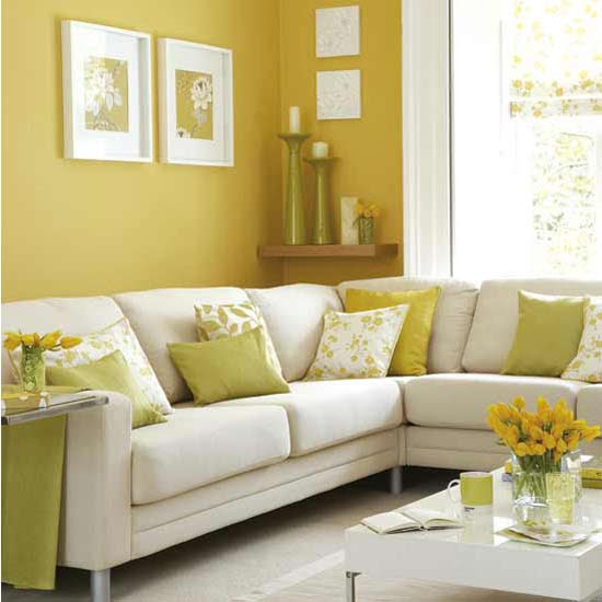 Decorating Room with yellow color | | Interior Designing Ideas