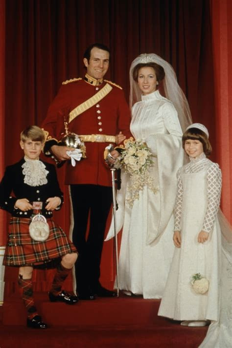 Princess Anne, 1973   Royal Wedding Dresses Through the