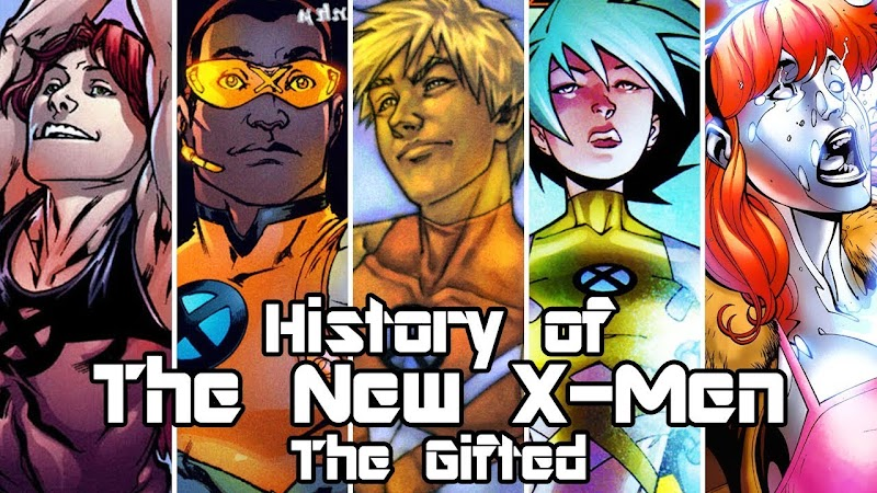48+ The Gifted Marvel Characters Pictures