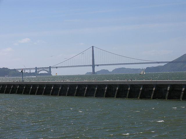 vista parcial da ponte