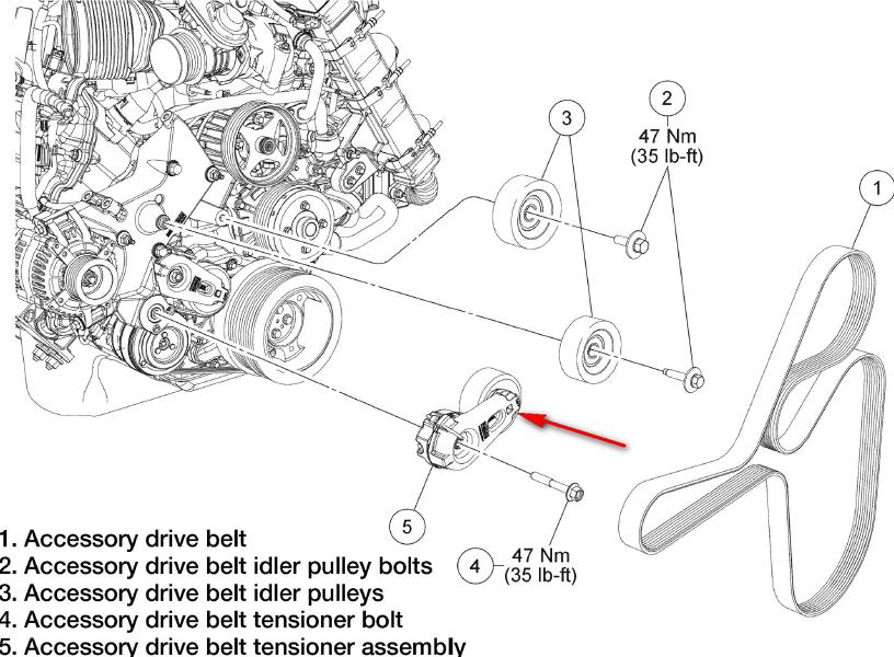 Ford 6 4 Belt Diagram