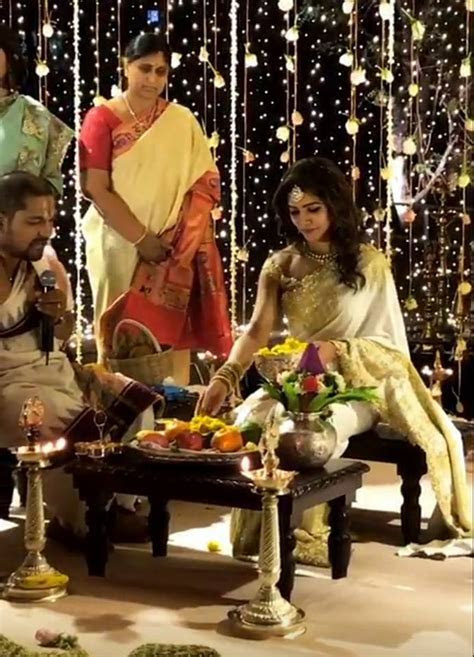 Naga Chaitanya and Samantha Ruth Prabhu Engagement Photos