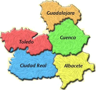 Mapa Castilla La Mancha Png.Mapa Castilla La Mancha Mapa