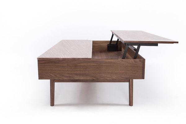 Furniture Maison | Modern Walnut Lift Top Coffee Table