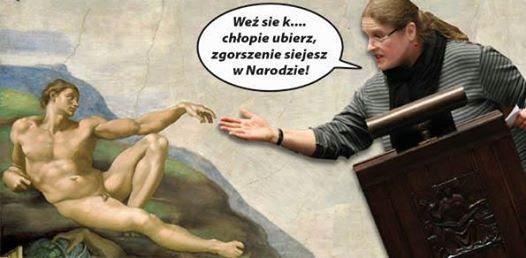 Znalezione obrazy dla zapytania memy z Pawłowicz