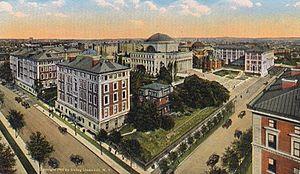 English: Columbia University, New York City, s...