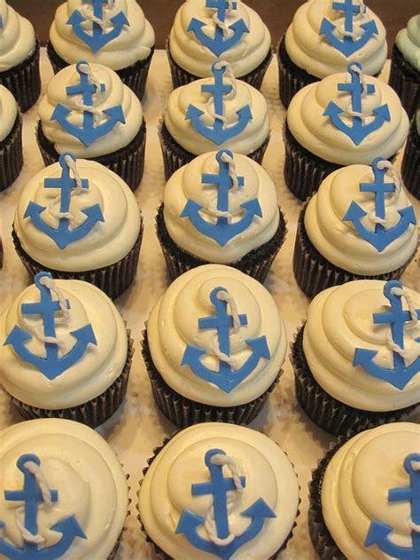 Best 25  Nautical cupcake ideas on Pinterest   Cupcake