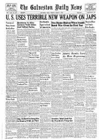 The Galveston Daily News on Newspapers.com