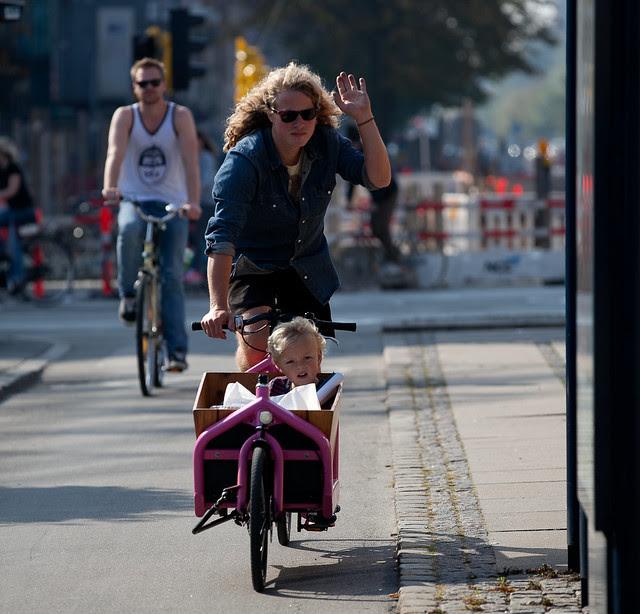 Copenhague Bikehaven por Mellbin - para bicicleta de ciclo - 2011 - 3792