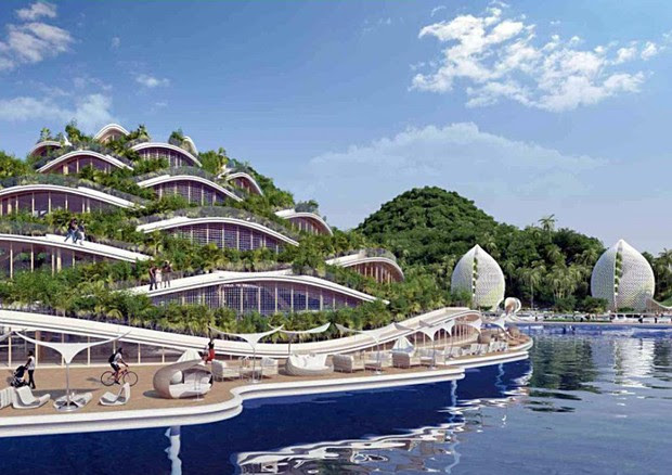 NAUTILUS ( CREDIT PHOTO: Vincent Callebaut Architectures, Paris) © ANSA