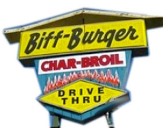 Biff Burger / 1970's fast food