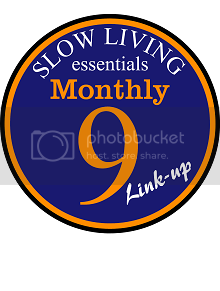 Slow Living Essentials Monthly 9 link up - Grab my button!