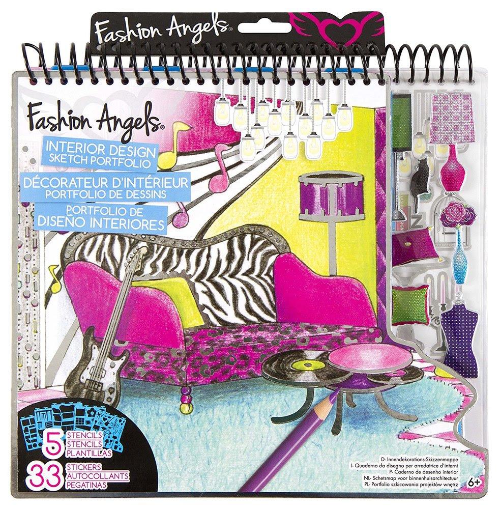 Fashion Angels Fashion Design Sketch Portfolio Artist Set Fashion