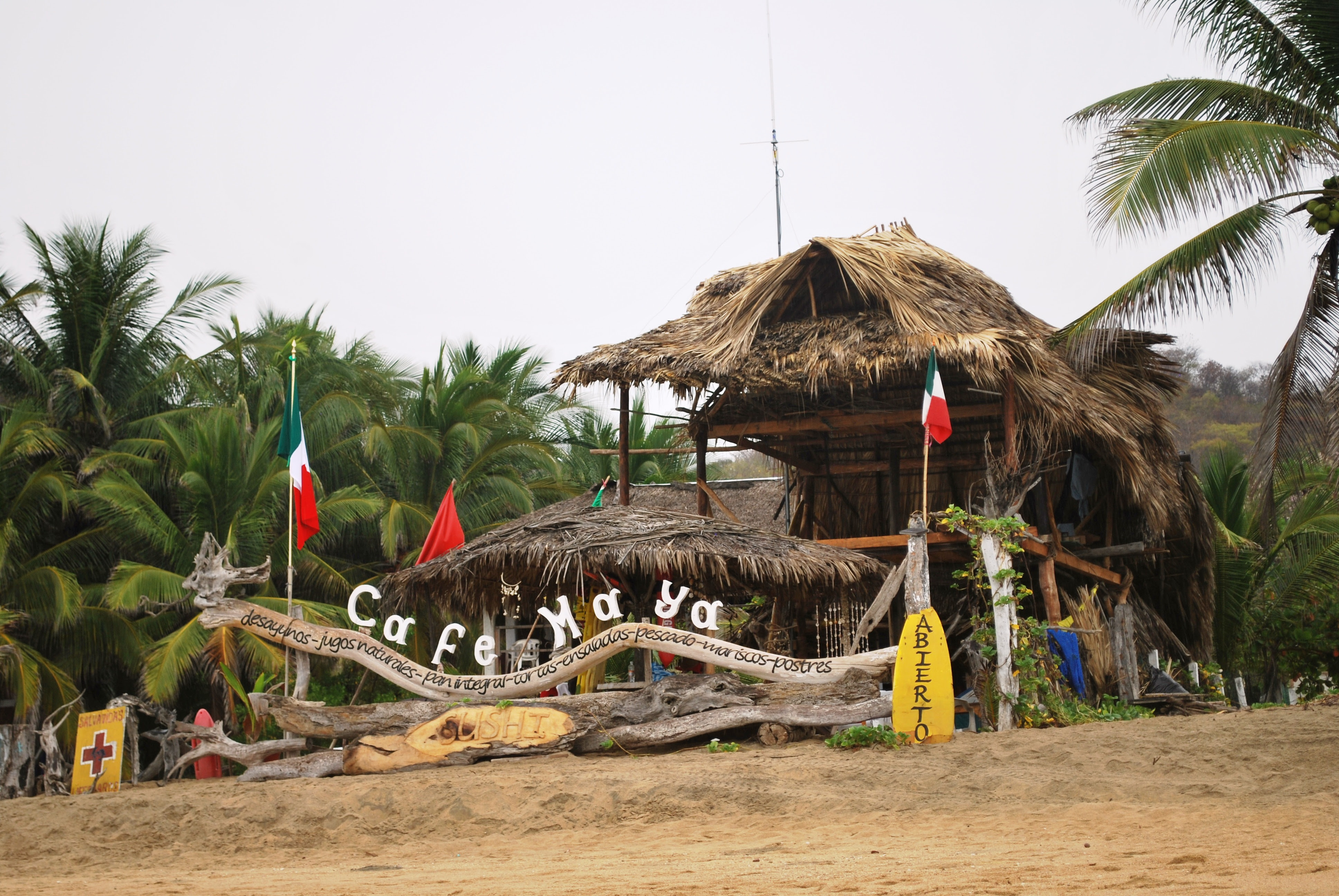 Playa Zipolite. Welcome To The Beach Of The Dead!: Finding