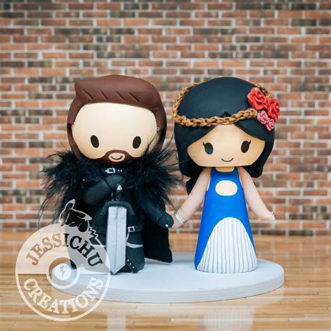 47 best Geeky Wedding Cake topper by Jessichu Creations