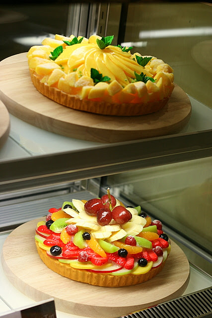 Gorgeous tarts! Too good to cut!